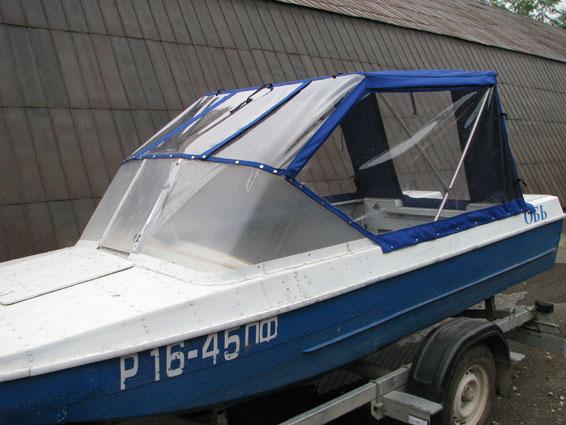 Тент на лодку ПВХ своими руками (носовой, ходовой)